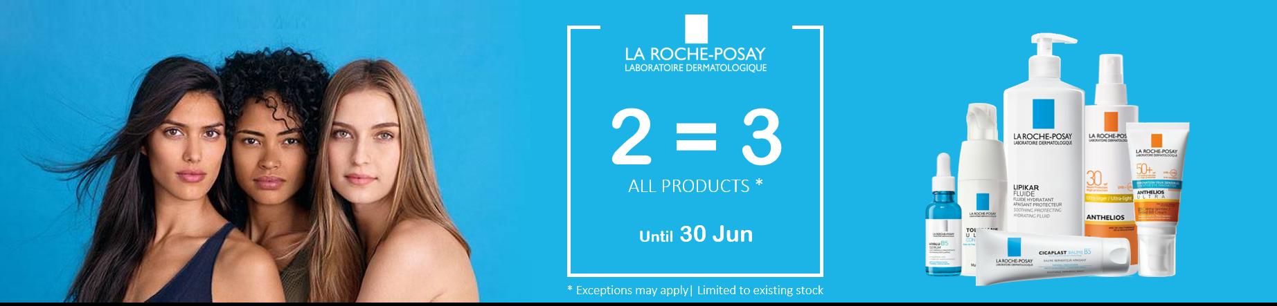 La Roche-Posay • 2 = 3