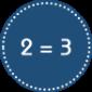 Vichy • 2 = 3