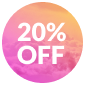 Happy Days Promotion · 20% OFF