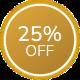 SVR · 25% OFF