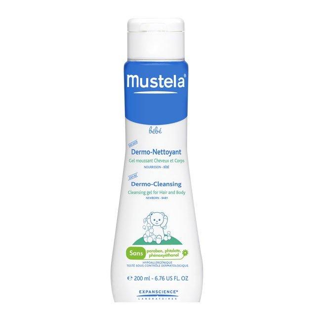 Mustela Baby Dermo-Cleansing Cleansing Gel Hair&Body 200ml