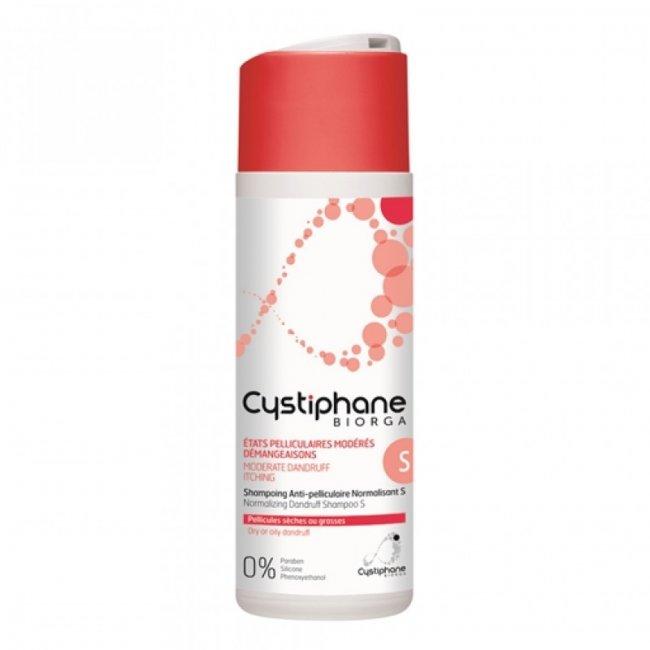 Cystiphane Biorga Shampoo S Anti-Caspa Normalizador 200ml