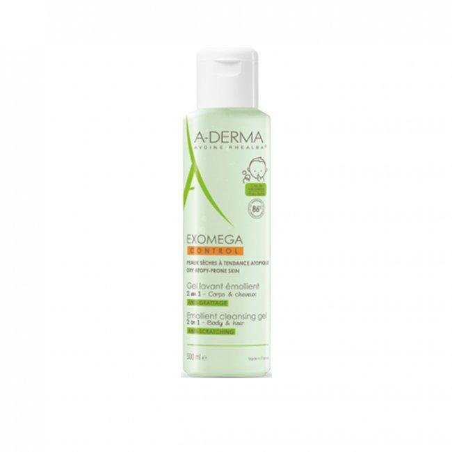 A-Derma Exomega Control Emollient Cleansing Gel 500ml