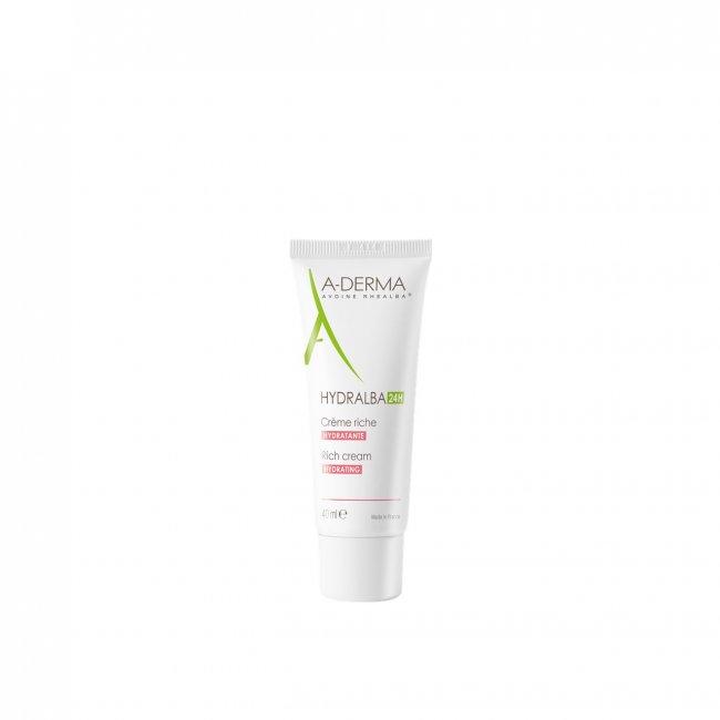 A-Derma Hydralba Creme Hidratante Rico 40ml