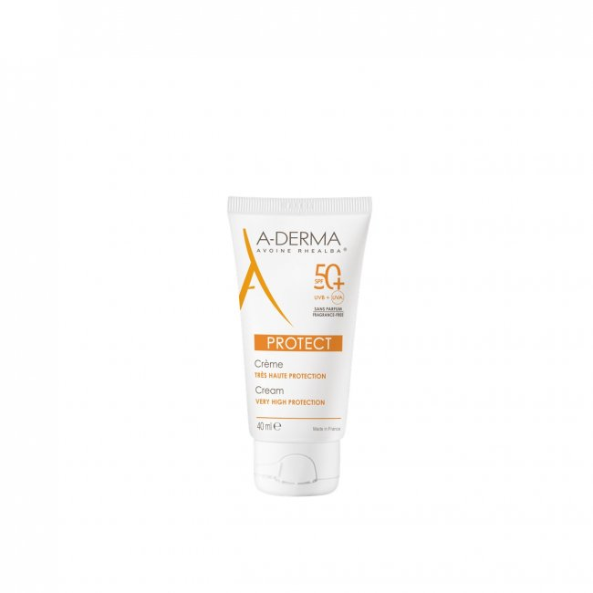 A-Derma Protect Cream Fragrance-free SPF50+ 40ml