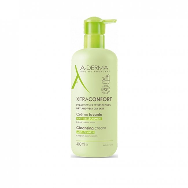 A-Derma XeraConfort Anti-Dryness Cleansing Cream 400ml