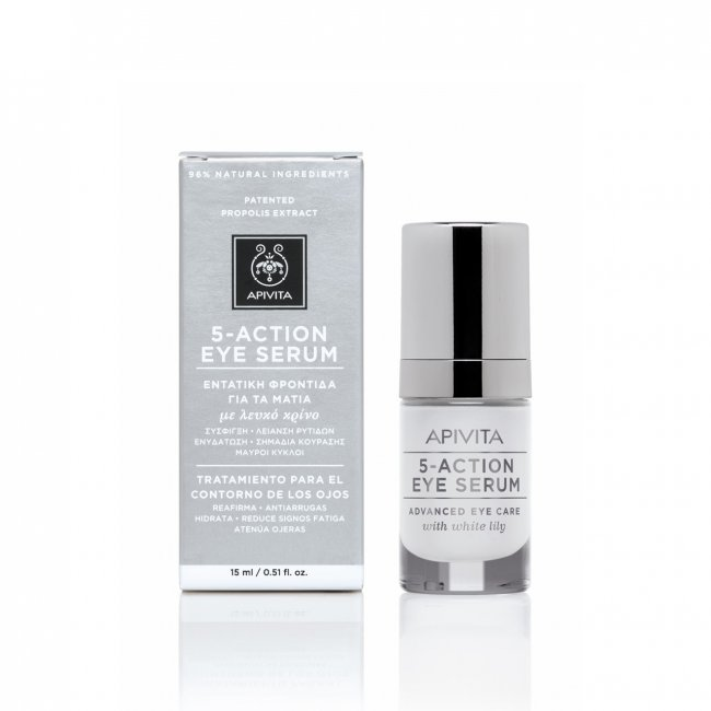 APIVITA 5-Action Intensive Care Eye Serum 15ml