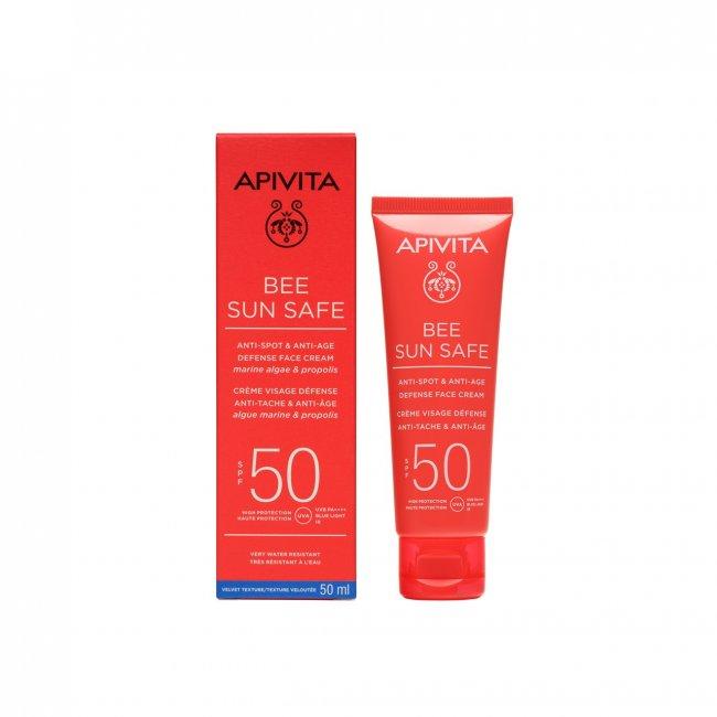 APIVITA Bee Sun Safe Anti-Spot & Anti-Age Face Cream SPF50 50ml