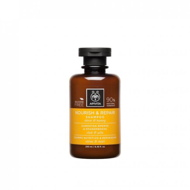 APIVITA Hair Care Nourish & Repair Shampoo 250ml