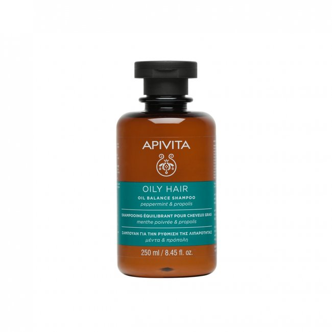 APIVITA Hair Care Oil Balance Shampoo 250ml