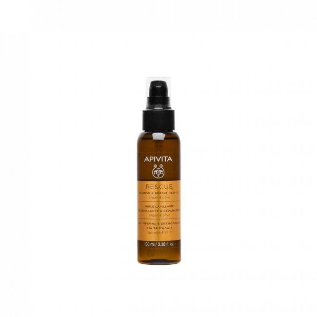 APIVITA Hair Care Rescue Hair Oil 100ml
