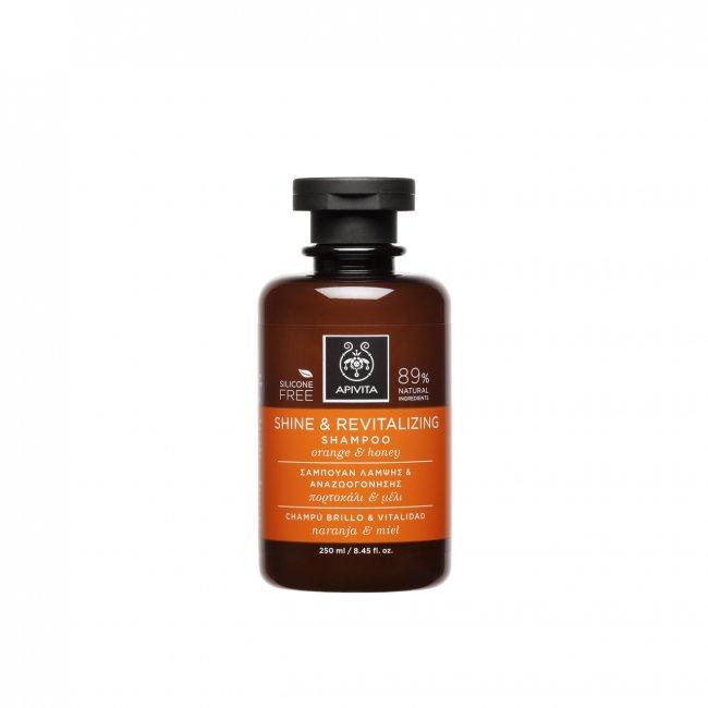 APIVITA Hair Care Shine & Revitalizing Shampoo 250ml