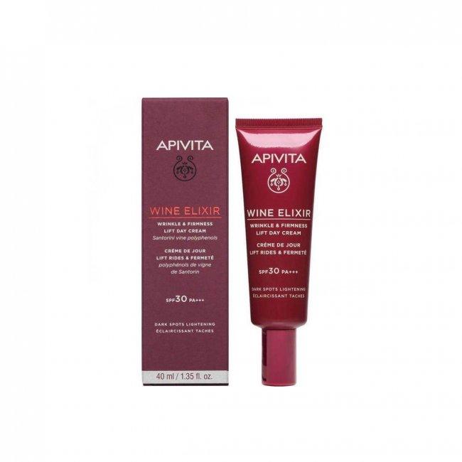 APIVITA Wine Elixir Wrinkle & Firmness Lift Day Cream SPF30 40ml