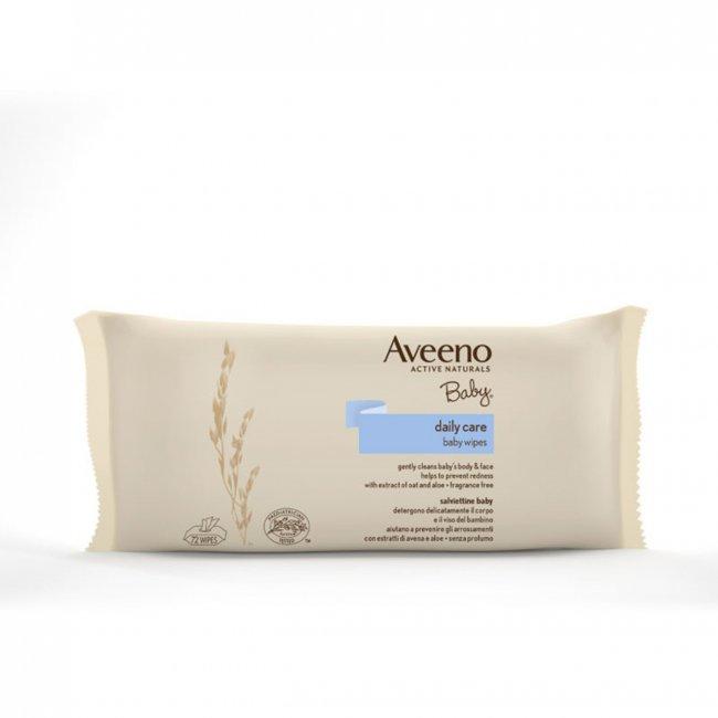 Aveeno Baby Daily Care Wipes Oat & Aloe Extracts x72