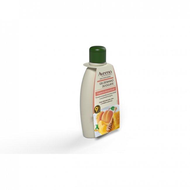 Aveeno Daily Moisturising Yogurt Body Wash Apricot & Honey 300ml