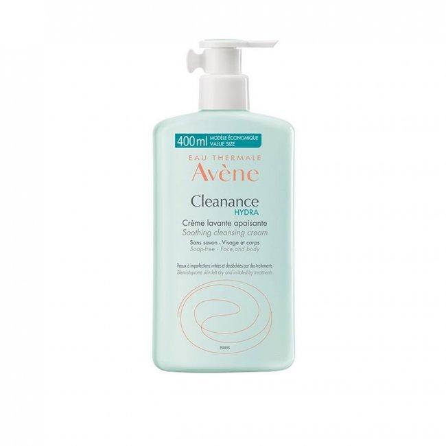 Avène Cleanance Hydra Creme de Limpeza Apaziguante 400ml