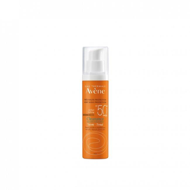 Avène Sun Cleanance Tinted Sunscreen SPF50+ 50ml