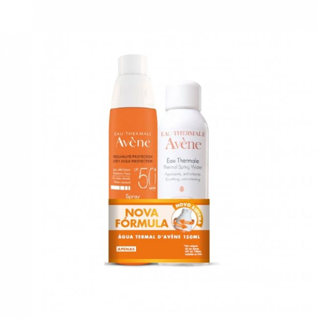 PROMOTIONAL PACK: Avène Sun Spray SPF50+ 200ml + Thermal Spring Water 150ml
