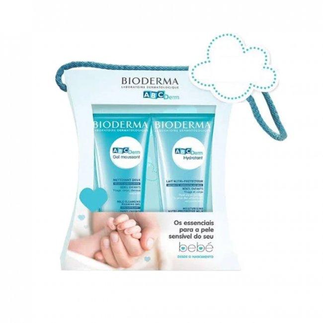 PROMOTIONAL PACK: Bioderma ABCDerm Moussant Gel + Moisturizing Milk Pack