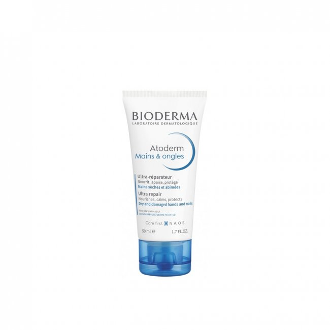 Bioderma Atoderm Hands & Nails Ultra Repair Cream 50ml