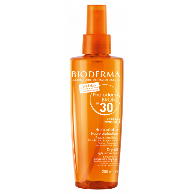 Bioderma Photoderm Bronz FPS30 Óleo Seco Promotor do Bronzeado 200ml