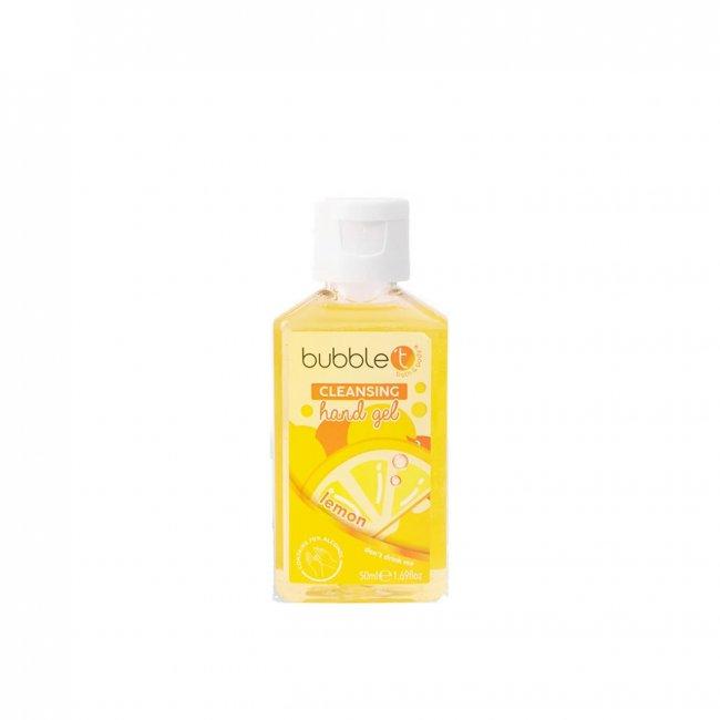 Bubble T Hand Cleansing Gel Lemongrass & Green Tea 50ml
