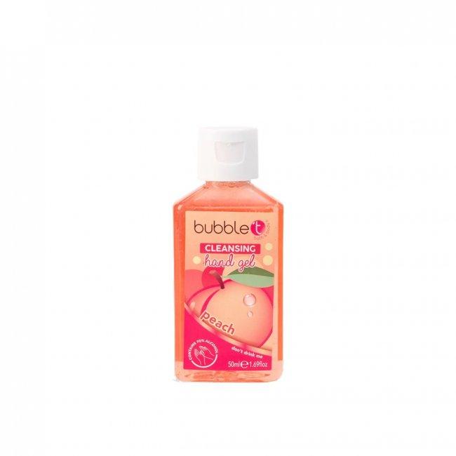 Bubble T Hand Cleansing Gel Peach 50ml