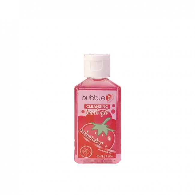 Bubble T Hand Cleansing Gel Strawberry 50ml