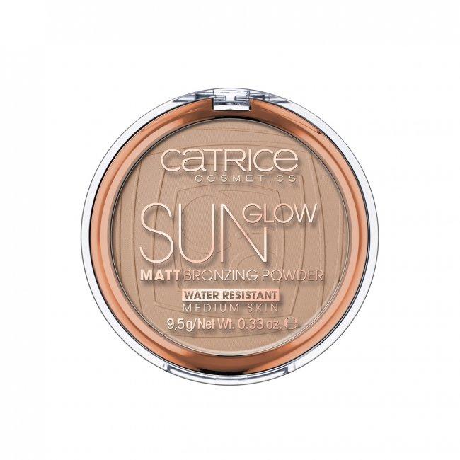 Catrice Sun Glow Matt Bronzing Powder 030 Medium Bronze 9.5g