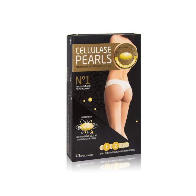 Cellulase Gold Pearls Anti-Cellulite Capsules x40