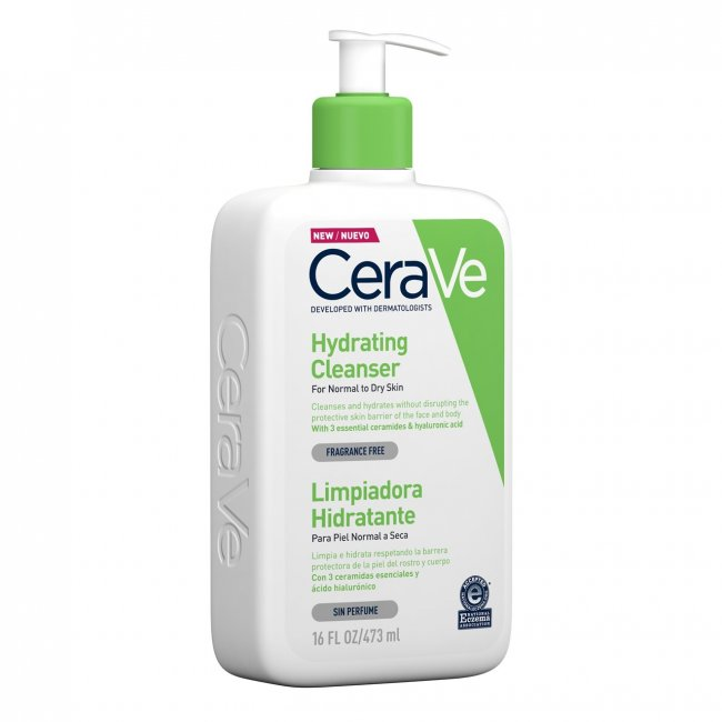 CeraVe Hydrating Cleanser Normal to Dry Skin 473ml