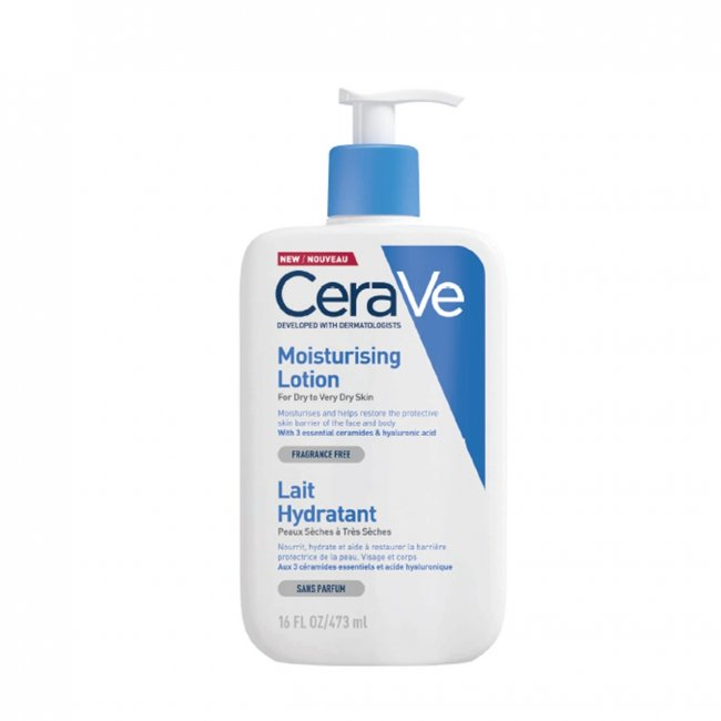 Buy Cerave Moisturizing Lotion Dry To Very Dry Skin 473ml