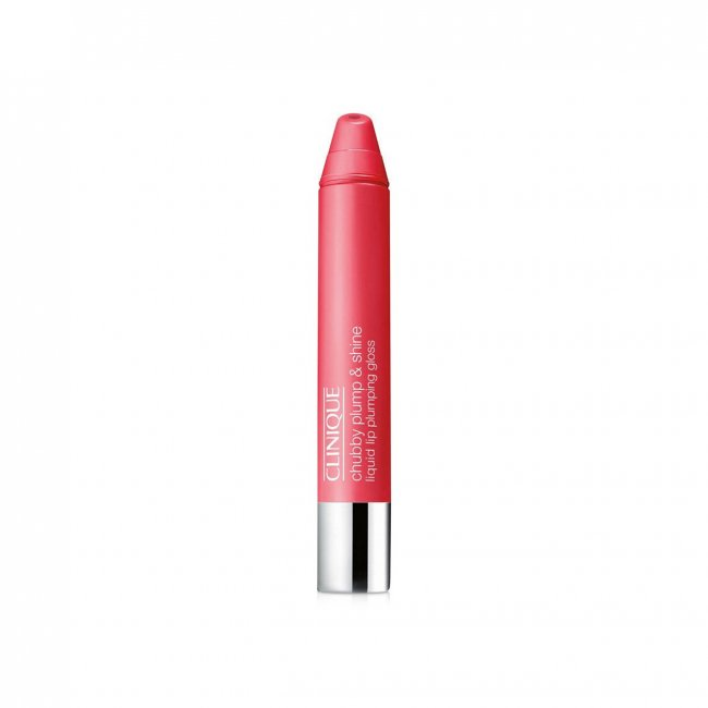 Clinique Chubby Plump & Shine Liquid Lip Gloss 05 Powerhouse Punch