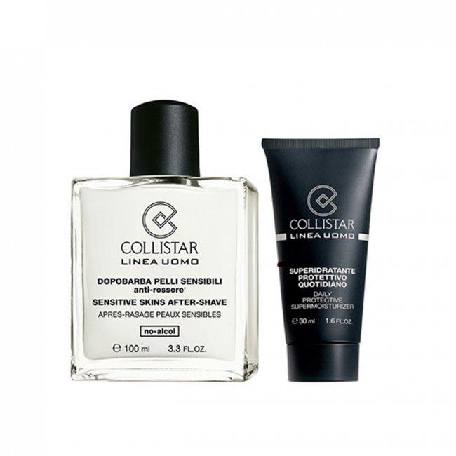 PROMOTIONAL PACK: Collistar Men Sensitive Skin After-Shave 100ml + Supermoisturizer 30ml