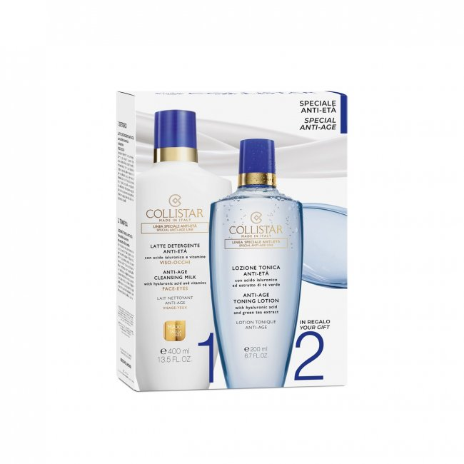 COFFRET: Collistar Special Anti-Age Cleansing Kit