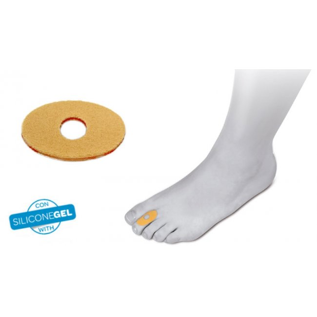 Comforsil Self Adhesive Dressings for Corns x4