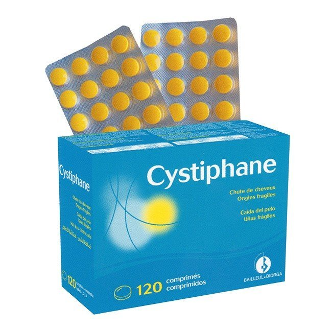 Cystiphane Biorga Food Suplement Hair and Nails x120