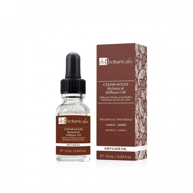 Dr. Botanicals Cedar Wood Botanical Diffuser Oil 15ml
