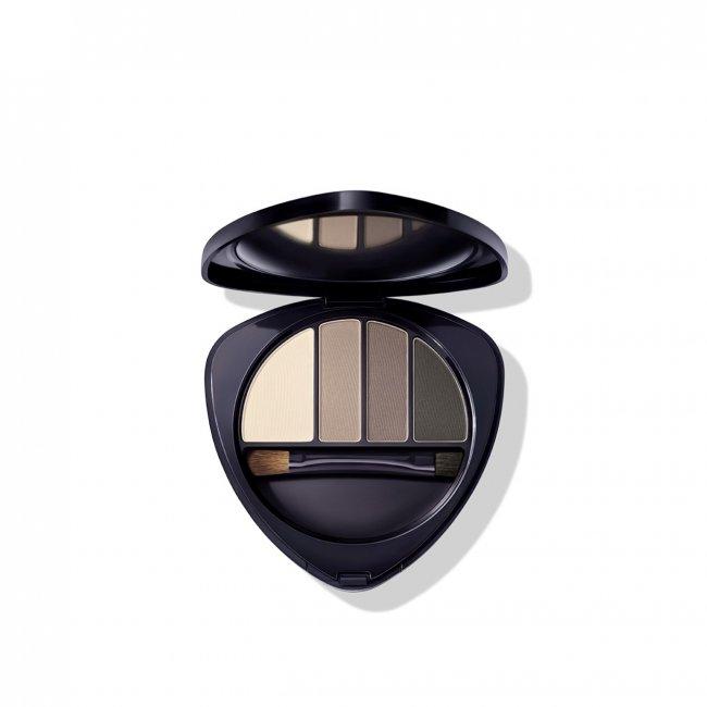 Dr. Hauschka Eye & Brow Palette 01 Stone 5.3g