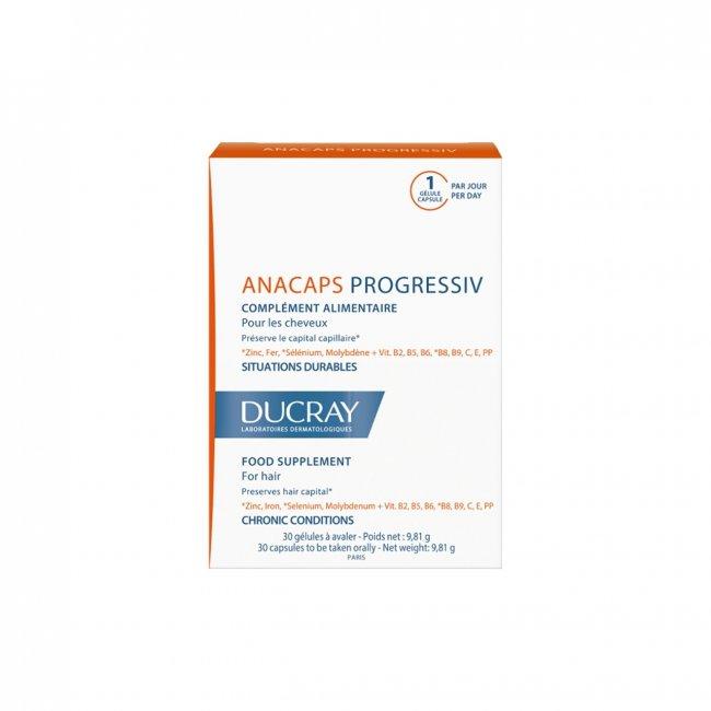 Ducray Anacaps Progressiv for Chronic Hair Loss x30