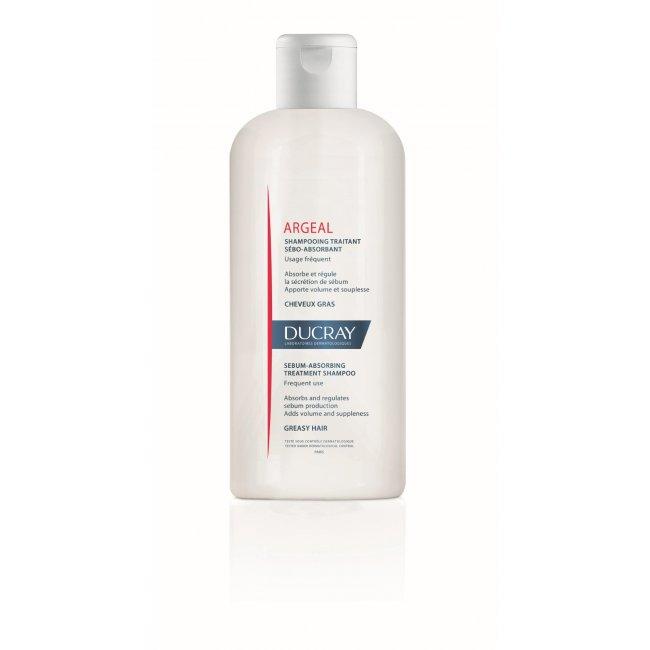 Ducray Argeal Sebum-Absorbing Treatment Shampoo 200ml