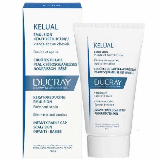 Ducray Kelual Keratoreducing Emulsion Face & Scalp 50ml