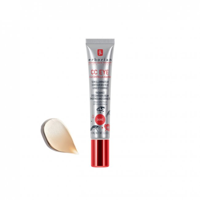 Erborian CC Crème High Definition Radiance Eye Cream SPF20 Doré 15ml