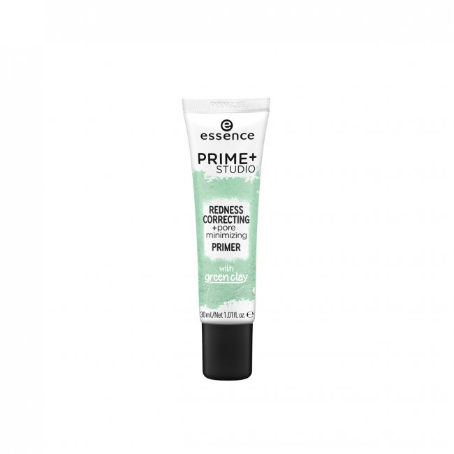 essence Prime+ Studio Redness Correcting + Pore Minimizing Primer 30ml