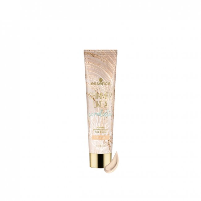 LIMITED EDITION: essence Tansation Shimmer Like A Coralista Bronzing Cream 010 120ml