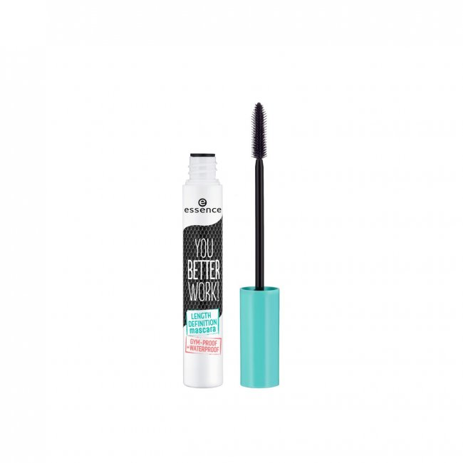 essence You Better Work! Length Definition Mascara 10ml