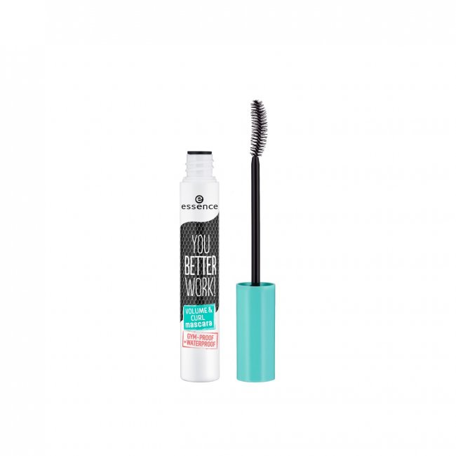 essence You Better Work! Volume & Curl Mascara 10ml