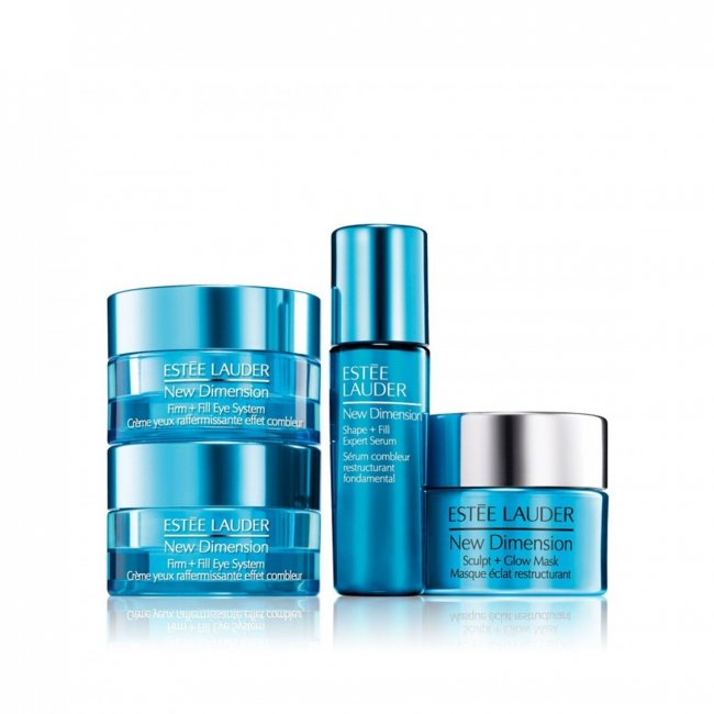 GIFT SET: Estée Lauder New Dimension Fill+Firm Eye System Coffret