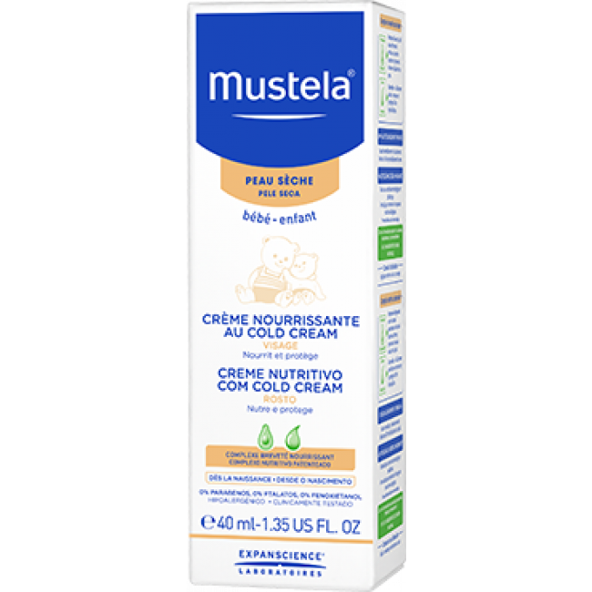 Mustela Baby Cold Cream Nutri-Protective Face Cream 40ml