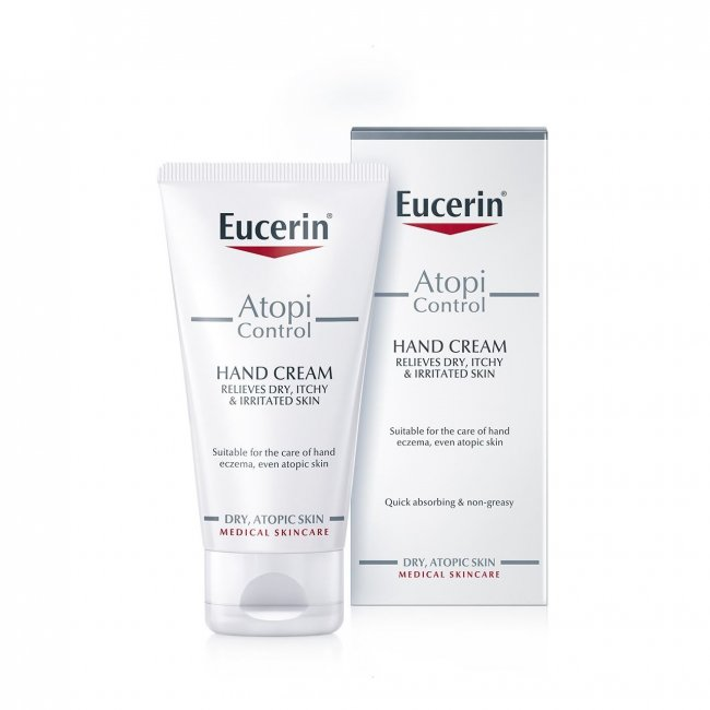 Buy Eucerin Atopicontrol Intensive Hand Cream 75ml Online at